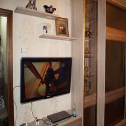 Фото: Шкаф комбинированный с ТВ тумбой для гостиной (г. Москва) «MEBM»