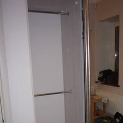 Фото: Встроенный зеркальный шкаф (г. Одинцово) «MEBM»